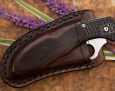 Becker BK2 Scout Carry Horizontal Sheath by BladesandSheaths