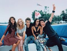 The TVD Cast at the TV Guide Magazine Yacht (SDCC 2013)