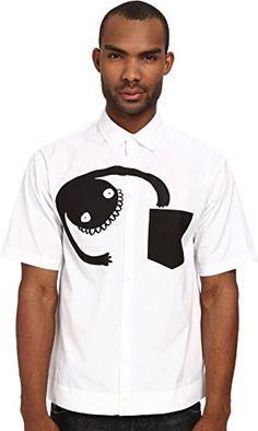 DSQUARED2 Men's Monster Summer Shirt  http://www.yearofstyle.com/dsquared2-mens-monster-summer-shirt/