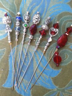 Weapon Jewelry Pretty weapon  Hair sticks Chop sticks by Dotster45, $15.00