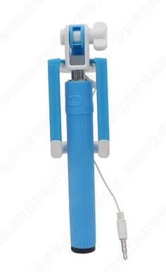 2016 Latest New Model Selfie Wired Mini Stick - No Need For Bluetooth or Charging - Blue Extendable, length from 15cm to 75cm 2016 NEW RELEASE: The Coolest & Easiest Selfie Stick / Selfie Pod. BLUE. When folded it's only 15cm, so it fits in your pocket or purse. It's super light (only 110g) so it's prefect for you or your kids. The new WIRED Edition allows you to plug and shoot. You just mount your smartphone, and connect the wire where the headphones typically connect and you're ready to…