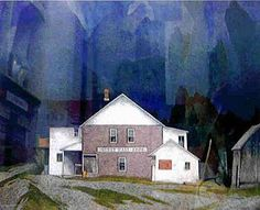 Casson, member Canadian Group of Seven Canadian Art, Artist Painting, Landscape Paintings, Group Of Seven Paintings, T Art, Art, Summer Landscape, Canadian Painters, Tom Thomson