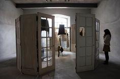 Architop e Betontop per il Museo Prada di Milano: bassi spessori e ricercati effetti cemento per esaltare al meglio l'esposizione. Credits foto: @IsabelladeMaddalena #design #MuseoPrada #pavimento