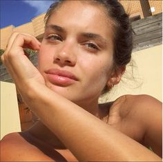 Sara Sampaio | 41 Victoria's Secret Models Show What They Look Like Without Makeup