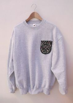 cute hipster clothes   sweater crewneck cute fashion hipster sweatshirt hoodie jumper grey ...