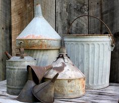 How to Reuse Galvanized buckets?