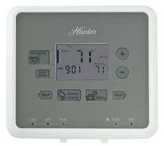 29 Best Home Heating Cooling S On Pinterest And. Hunter 44132 5minute 52 Day Programmable Thermostat White By. Wiring. Hunter 5 Wire Thermostat Diagram 40135 At Scoala.co