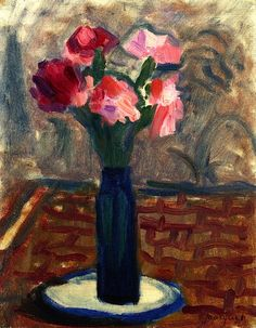 Vase of Flowers Albert Marquet