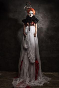 Pierrot Colerette Victorian, Collection, Dresses, Fashion, Vestidos, Moda, Fashion Styles, Dress, Fashion Illustrations
