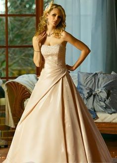 wedding dresses a line wedding dresses wedding dresses with straps lace a-line/princess strapless chapel train wedding dress forbrides 2014 style