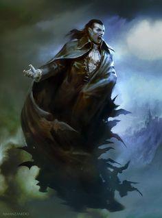 Vampire by Manzanedo.deviantart.com on @DeviantArt