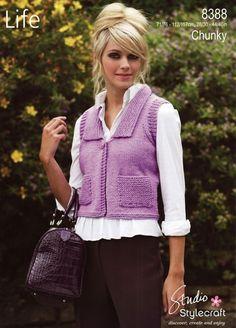 Stylecraft--Waistcoat
