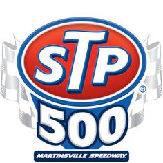 Watching the Nascar Sprint Cup Series STP 500, from Martinsville Speedway in Virginia.