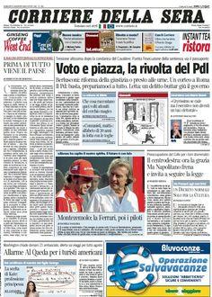 Il Corriere della Sera (03-08-13) Italian | True PDF | 60 pages | 17,59 Mb