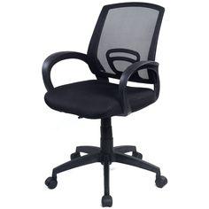 New Ergonomic Mesh Computer Office Chair Desk Task Midback Task Black
