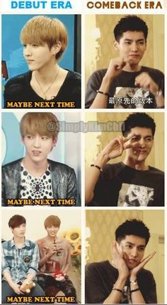 yes Kris's aegyo is awesome --- Do you think he refused in the beginning because he knew we couldn't handle it???