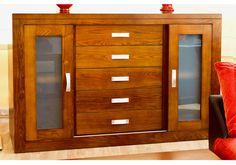 Aparador de madera maciza de fresno,muebles a medida. Dresser, Furniture, Home Decor, Sideboard Cabinet, Solid Wood, Custom Furniture, Homemade Home Decor, Lowboy, Stained Dresser
