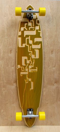 Summer Soulsticks Longboard Skateboard limited silkscreen print no. 17 22  complete Skateboard Design 58666e35832