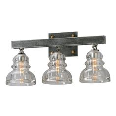 Troy Lighting B3953 Menlo Park Old Silver 3 Light Vanity On Sale Now. Guaranteed Low Prices. Call Today (877)-237-9098.