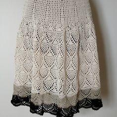 Ravelry: Pineapple Skirt pattern by Kathryn A. Clark
