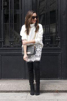 Black And White Lace Skirt   BeSugarandSpice - Fashion Blog