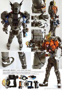 Kamen Rider, Deadpool, Samurai, Superhero, Fictional Characters, Detail, Art, Art Background, Kunst