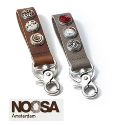 Nieuw van Noosa Amsterdam: Sleutelhanger oftewel Keyring Model Key ring Classic - NummerZestien.eu