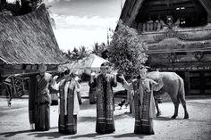 Tor Tor Dance -Traditional dance from Batak tribe, Lake Toba - North Sumatera, Indonesia.