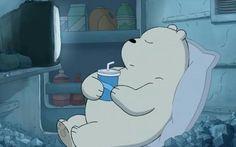 we bare bears ice bear drinking Ice Bear We Bare Bears, 3 Bears, Cute Bears, We Bare Bears Wallpapers, Cute Wallpapers, Bear Cartoon, Cartoon Pics, Bear Drink, Pan Pan