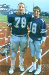 Sean Peyton at EIU Eastern Illinois, Lineman, Detroit Lions, Athlete, Nfl, Career, Baseball Cards, Cowboys, Sports