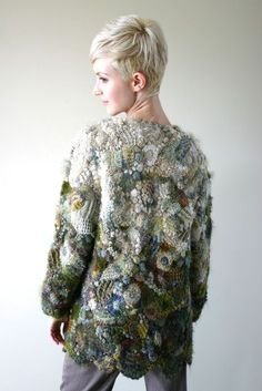 Knit And Crochet Now, Crochet Coat, Crochet Jacket, Irish Crochet, Crochet Clothes, Crochet Baby, Free Crochet, Knitting Projects, Knitting Patterns