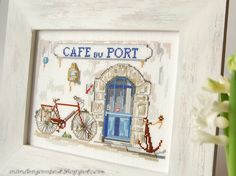 Cafe du port-beautiful needle work