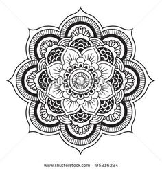 Mandala Tattoo Designs Despite growing in murky water, the lotus flower grows beautifully and perfect. A symbol of serenity and inner peace due to past troubles.