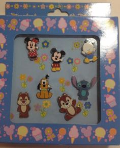 NEW Walt Disney World Official Pin Trading 2006 Set of 7 Pins Collectible
