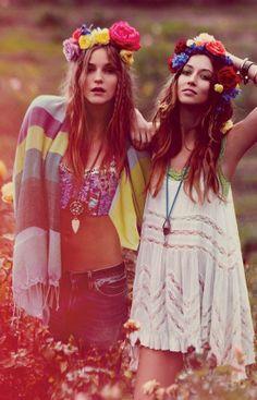 Hippie fashion ♥