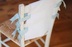 simple wedding chair decorations