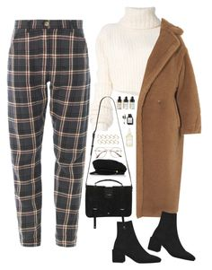 """""""Untitled #2032"""" by samikayy76 ❤ liked on Polyvore featuring Ann Demeulemeester, Herbivore, Bobbi Brown Cosmetics, Yves Saint Laurent, MaxMara, ASOS, Eugenia Kim and Prada"""