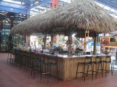 Tiki bars for commercial use