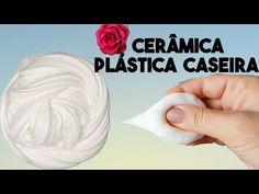 Cerâmica Plástica Flexível que Não Racha - YouTube Pasta Casera, Mirror Crafts, Concrete Crafts, Paper Crafts Origami, Dog Dresses, Air Dry Clay, Cold Porcelain, Clay Art, Sculpting