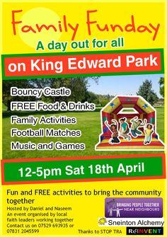 Free Family Fun Day on King Edward's Park - Sneinton Alchemy
