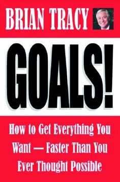 Goals by Brian Tracy is definitely a great must-read personal development book! **These Brian Tracy programs will change your life. Brian Tracy Books, Brian Tracy Quotes, Great Books To Read, My Books, Read Books, Library Books, Steps To Success, Personal Development Books, Inspirational Books