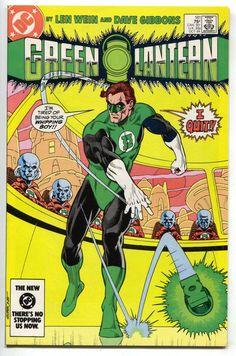Green Lantern 181 1st Series DC 1984 VF NM Dave Gibbons Corps