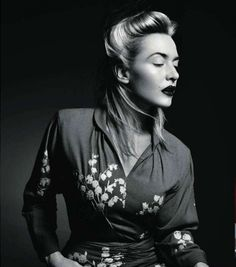 Kate Winslet photographed by Patrick Demarchelier for Vogue Paris, November 2011