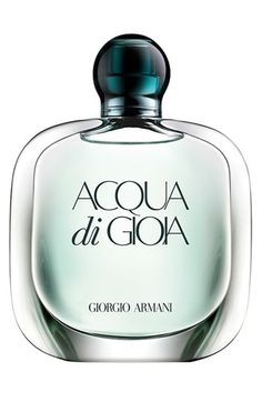 Armani Acqua di Gioia perfume is the most delicious mojito-inspired fragrance. Clean and crisp and perfect for all year-round.