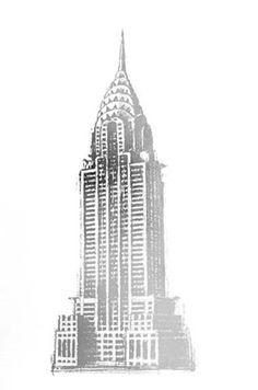 chrysler building drawing - Google Search | Gala ...