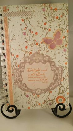 Check out this item in my Etsy shop https://www.etsy.com/listing/233262659/psalm-374-prayer-journal