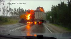 The Road Movie - official U.S. trailer of a feature length film of just Russian road accident dash cam footage