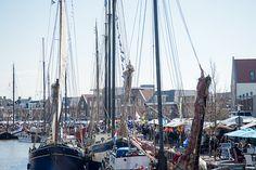 De Vlootdag is de feestelijke opening van het zeilseizoen van de bruine vloot. De Vlootdag wordt in de Zuiderhaven in Harlingen georganiseerd.