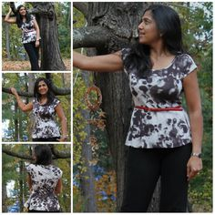 Dessiner une basque peplum - PatternReview Blog > Pattern Hack - A Knit Peplum Top