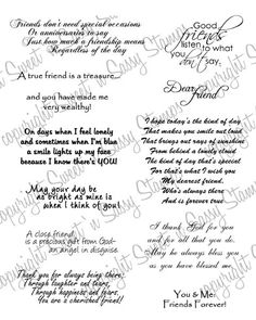 Sweet 'n Sassy Stamps - A True Friend Digital Stamp, $4.00 (http://www.sweetnsassystamps.com/products/A-True-Friend-Digital-Stamp.html)